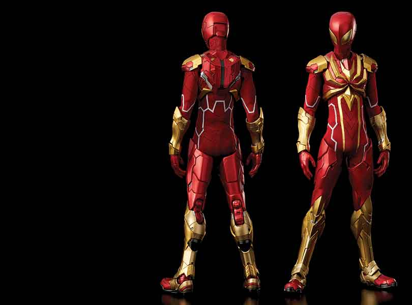 Iron Spider joins the line-up of the popular RE:EDIT series by Sen-Ti-Nel